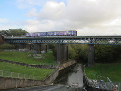 1438m Carr Mill Viaduct (61379 Mayflower) Tags: bridge railway 150 railways electrification