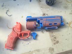 Duke WIP3 (Tsabo Tsaboc) Tags: 3d gun hand duke replica destiny impact cannon thorn props