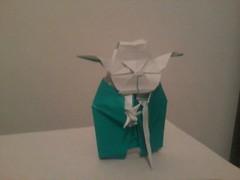 Jedi Master Yoda - Fumiaki Kawahata (Boy -) Tags: star origami yoda master jedi wars kawahata fumiaki