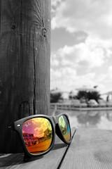 Imagine it And Make it Happen (MdR0304) Tags: sun colour swimming glasses kreta swimmingpool greece crete