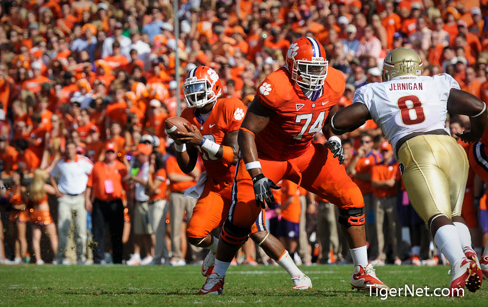 Clemson Photos: 2011, Antoine  McClain, Florida  State, Football