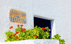 Santorini 01 (Kenny Humby) Tags: blue sky color greek aegean hellas santorini greece grecia griechenland   grce oia cyclades mykonos thira fira grcia thera griekenland yunanistan  grekland kreikka    grkenland grgorszg   ecko