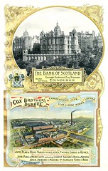 Cox Brothers Ltd (Dundee City Archives) Tags: old scotland office photos dundee head cords bank rope spinning sector era works financial edwardian banking flax 1905 hemp spinners manufacturer camperdown jute lochee twines edinbirgh olddundeephotos