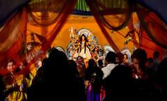 Durga Puja 2014 (P0RAG RAHMAN) Tags: life city people color colour festival religious temple amazing asia prayer citylife lifestyle belief celebration ritual colourful hindu occasion bangladesh puja durga southasia moulvibazar