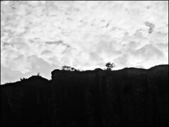Fin d'après-midi dans les montagnes