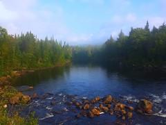 Hudson River in Adks (nat171) Tags: sunrise adirondacks foggymorning riverhudson galaxys4 summer2014