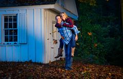 Danielle_Andrew-60 (Dave Fryer Photography) Tags: ontario canada fall leaves barn engagement nikon shoot farm ctogel d700 nostrobistinfo sb700 removedfromstrobistpool seerule2 sb910