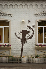 Painted wind (tolkachoffs) Tags: city art wall graffiti picture dandelion 50mm18 orenburg canon600d