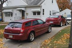 2007 Chrysler 300 SRT 8 & 2005 Dodge Magnum RT (DVS1mn) Tags: 2005 05 8 dodge hemi chrysler 300 rt 07 magnum 2007 srt