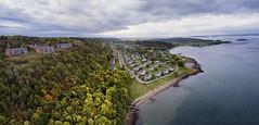 Jeløya (kjetilpa - landscape and aerials) Tags: panorama norway norge moss woods fjord oslofjord oslofjorden østfold drone jeløy jeløya refsnes gh3 multirotor t960 multicopter tarott960