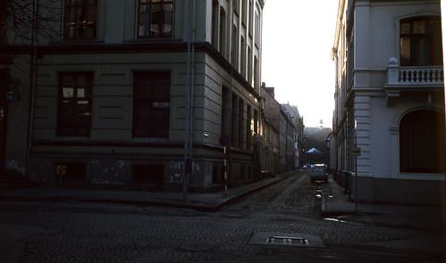 Apotekerveita sett fra Dronningens gate