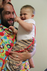 Playing with fimbriae (quinn.anya) Tags: halloween andy costume toddler sam bacteria cuneiform salmonella microbe akkadian fimbriae
