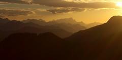 The Orange Land (bookhouse boy) Tags: sunset mountains alps sonnenuntergang berge alpen 2014 spitzingsee taubenstein mangfallgebirge rauhkopf bayerischevoralpen 9oktober2014