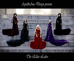 The Eldar Ladies (AyuAna) Tags: ball design clothing doll handmade ooak style dia medieval clothes fantasy bjd dollfie soom eris limos jointed granado ordoll nyxdoll ayuana voidf
