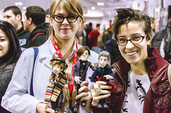 Puppet Doctor (joeypedras) Tags: new york 35mm nikon comic puppet who doctor con nycc d5100
