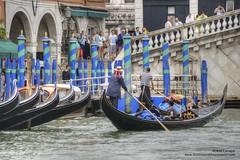 Venice Grand Canal (Alcu3- www.thisthatandthepassport.com) Tags: venice italy canal agua italia gondola venezia grandcanal rialto gondolier gondolero