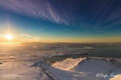 Reykjavík in distance