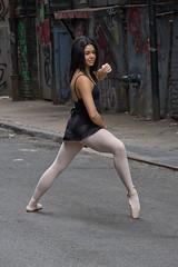 A Street Ballerina (slightheadache) Tags: street nyc newyorkcity ballet newyork dancers manhattan dancer 2014 streetballet
