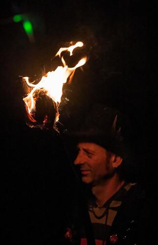 Battle bonfire