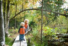 Where will the bridge lead? (grilljam) Tags: autumn seamus ewan 4yrs 25yrs october2014 widgeoncovetrail