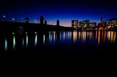 The bridge to Cambridge. (Steven Sy 2.0) Tags: bridge cambridge sunset boston night river lights evening nikon shots charlesriver charles 1750 28 tamron d7000 nikond7000