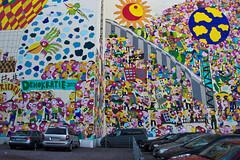 Leipzig (michael_hamburg69) Tags: streetart art wall germany painting deutschland wand saxony leipzig sachsen parkplatz figures hauswand