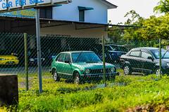 Old Epic Japanese cars all around, Kuching, Malaysia (BachurinDDennis) Tags: life cars daily sarawak malaysia everyday kuching colourfull workdays malaysiaphotography
