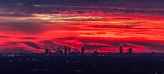 Not again, Atlanta's on fire (C.Fredrickson Photography) Tags: atlanta sunset clouds ga georgia stonemountain solareclipse 2014 i500 carlfredrickson wwwcfredricksonphotographycom tamron150600mm ©carlfredrickson2014