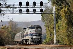AMTRK 513 GE B32-8W (Conrail1978) Tags: railroad train cove ns norfolk loco southern pa amtrak ge unit 513 duncannon amtrk b328w