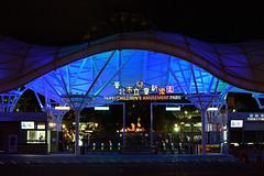 DSC_2362 (ppeng@yahoo) Tags: street night 50mm nikon taipei 50mmf14d d810 taipeichildrensamusementpark 台北兒童新樂園