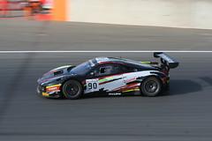 Ferrari 458 GT3 (PikeSebY) Tags: black race racecar italian track italia ferrari gt panning circuit scuderia zolder gt3 458 blancpain
