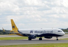 Monarch A321(S) G-ZBAO taxiing at MAN/EGCC (AviationEagle32) Tags: uk man manchester flying airport unitedkingdom aircraft aviation airplanes flight apron landing monarch planes airbus mon zb avp aeroplanes arrivals manchesterairport taxiing a321 ringway planespotting egcc cfm monarchairlines reversethrust aviationphotography airbus321 a321231 a321200 flymonarch manchesteravp sharklets flickraviation gzbao a321s manchesterairportt1 manchesterairportatc