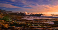 High Drama (philipleemiller) Tags: landscape seascape nature waves california pacificcoast ptlobos sunset tidepools clouds