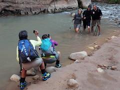 2016-09-p02-narrows-mjl-011 (Mike Legeros) Tags: ut utah zion zionnationalpark narrows river slotcanyon swiftwater wetfeet watchyourstep