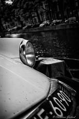 Citroen DS : a dutch passion (christian.grelard) Tags: amsterdam netherlands automobile car dutch citroen ds bw nb blackandwhite noiretblanc monochrome