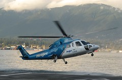 C-GHJW S.76A Landing (kitmasterbloke) Tags: vancouver britishcolumbia canada heliport helijet sikorsky s76aspirit