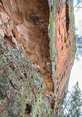 160925_Warrumbungles_5685.jpg (FranzVenhaus) Tags: trees creek countrybush plants cliffs australia mountains warrumbungles nsw water newsouthwales wilderness rocks aus