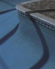 11:38pm,2016 (Carson Gilliland) Tags: pool night longexposure florida sarasota portra kodak mamiya rz67 160