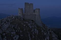 rocca in blu (Paolo Dell'Angelo (journey to Italy)) Tags: rocca calascio abruzzo italia