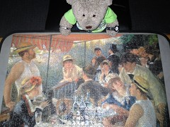 I can't see no boat! (pefkosmad) Tags: jigsaw puzzle hobby relaxation pastime leisure 1000pieces complete