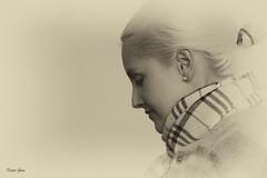 Andrea (Dieter Gora) Tags: portrait sepia black white monochrome