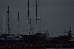 Rest In Peace ... (Kotsikonas Elias) Tags: restinpeace shipwreck nikon d3300 boat yacht ship marine abandoned abandonedyachts