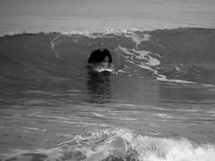 Bodyboarding at North Bay, Scarborough (Ian Press Photography) Tags: scarborough north yorks yorkshire sea side seaside black white monochrome mono bodyboarding bay