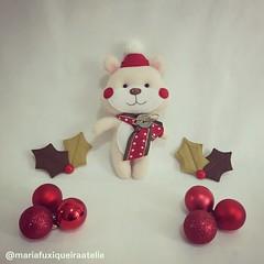 Ursinho (mfuxiqueira) Tags: urso ursinho natal feltro