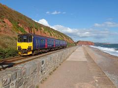 150121 Dawlish (2) (Marky7890) Tags: gwr 150121 class150 sprinter 2f37 dawlish railway station devon train