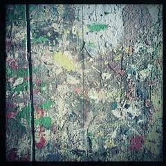 Paint splattered table (breakbeat) Tags: hipstamatic oxford instameet instagrammeetup photowalk city hipstamaticapp anniesloan shop cowleyroad painteverything colourful interiordesign texture abstract table paint splodge splatter drip
