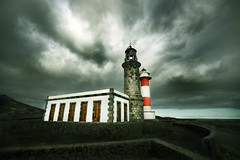 El Faro  / The Lighthouse (pasotraspaso. Jesus Solana Fine Art Photography) Tags: faro lighthouse fuencaliente salinas la palma storm clouds terrific tormenta nubes luz light fineartphotography canary islands