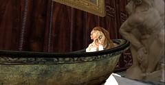 Come bathe with moi (Allie Carpathia) Tags: horror demon bath hauntedhouse autumn halloween secondlife