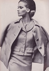 "Vogue ""Mainbocher '63"" shot by Irving Penn (moogirl2) Tags: irvingpenn vogue vintagevogue 1960s 1960sfashion 60s 60sfashion mainbocher 1963 vintagefashionphotography celiahammond"
