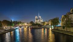 Magnificent Paris (aurlien.leroch) Tags: france paris nikon night d7100 bluehour notredame cathédrale toureiffel eiffeltower seine cityscape longexposure